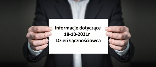 Informacje 18-10-2021